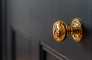 Brass Knobs with Handles